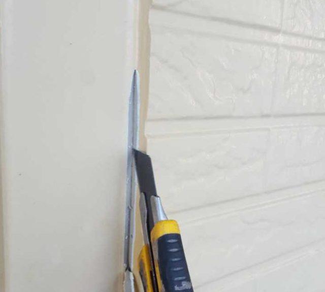 【宮崎県宮崎市】生目台西にある住宅で123平方メートルの外壁を塗装するために足場を設置しますシール撤去_1_確定