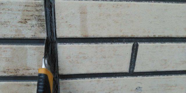 【宮崎県宮崎市】本郷北方にある34坪の住宅で窯業系サイディングを塗装するために足場を設置しますシール撤去_1_確定