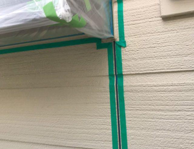 【宮崎県宮崎市】源藤町堤下にある35坪の住宅でシーリング補修をしていきますマスキング・プライマー処理_1_確定