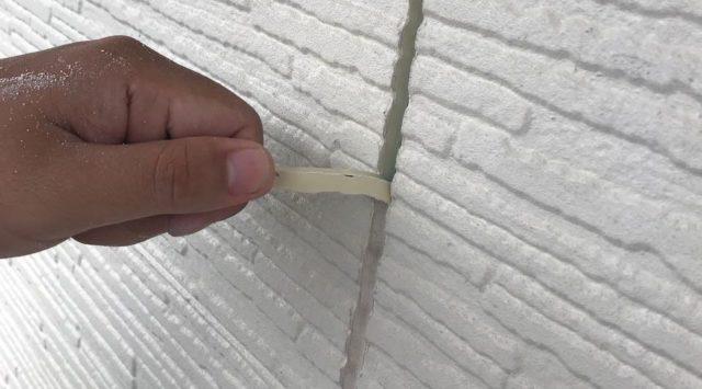 【宮崎県宮崎市】東大宮にある陶器瓦屋根の住宅でシーリング補修をしますシール撤去_1_予備1