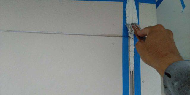 【宮崎県宮崎市】本郷北方にある34坪の住宅で窯業系サイディングを塗装するために足場を設置します押さえ込み_1_確定