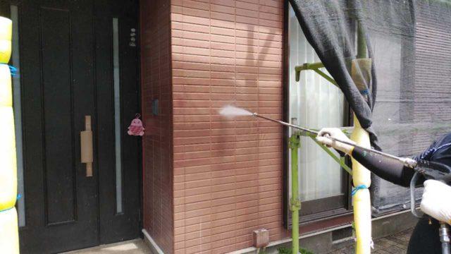 【宮崎・鹿児島地域】窯業系サイディングとスレート屋根を塗装していきます高圧洗浄洗い流し_1_確定