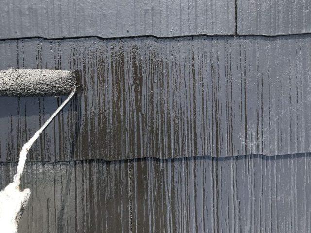 【宮崎県宮崎市】源藤町堤下にある35坪の住宅でシーリング補修をしていきます屋根上塗り_1_確定