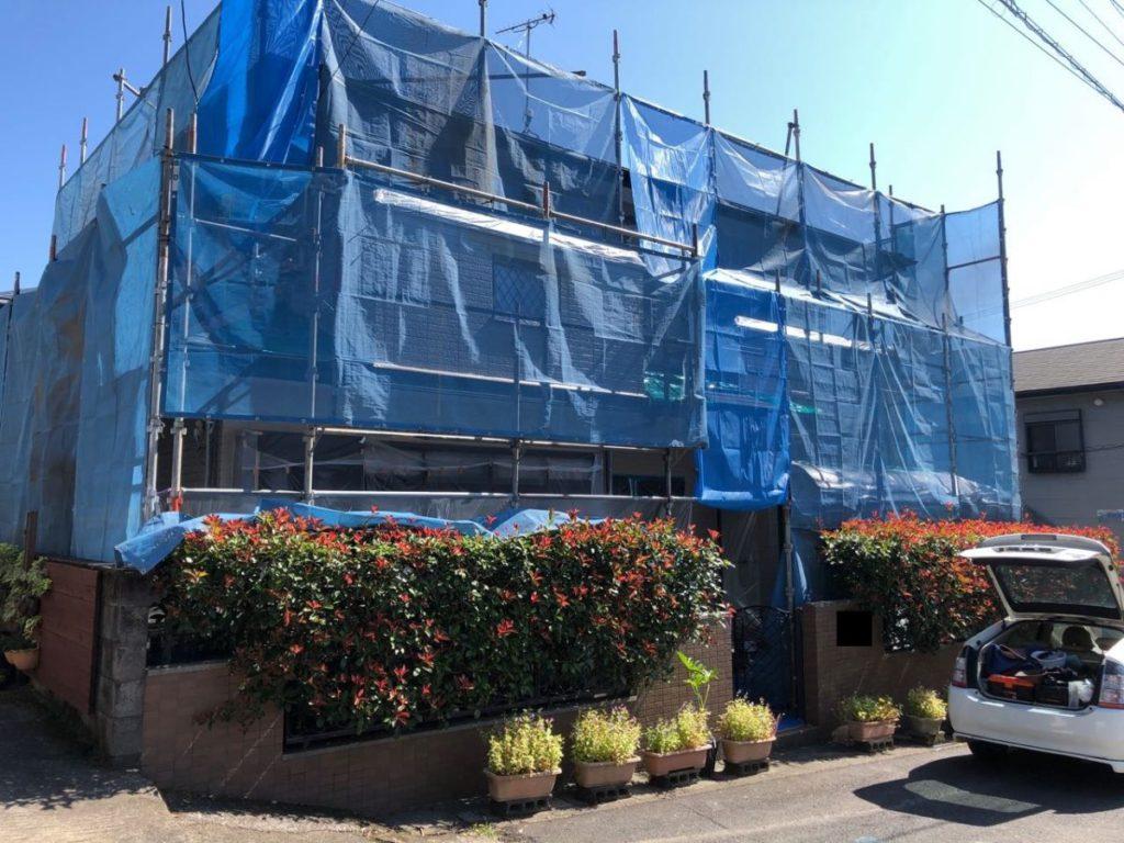 鹿児島市の塗装工事前の様子
