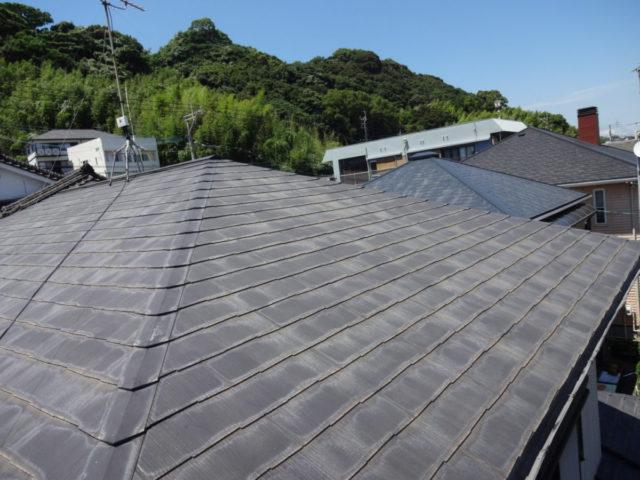 鹿児島市屋根塗装前の様子