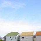 屋根塗装イメージ図