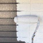 【宮崎県宮崎市】大塚町にある58坪の住宅で窯業系サイディング外壁とセメント瓦屋根を塗装していきます外壁中塗り_1_確定