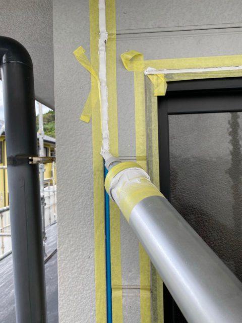 外壁塗装コーキング補修