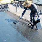 【鹿児島県鹿児島市】伊敷台にある住宅でサイディング外壁とスレート屋根を塗装していきます屋根中塗り_1_確定
