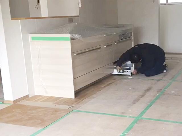 キッチン施工 完了