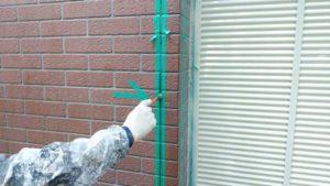 外壁塗装のコーキング補修