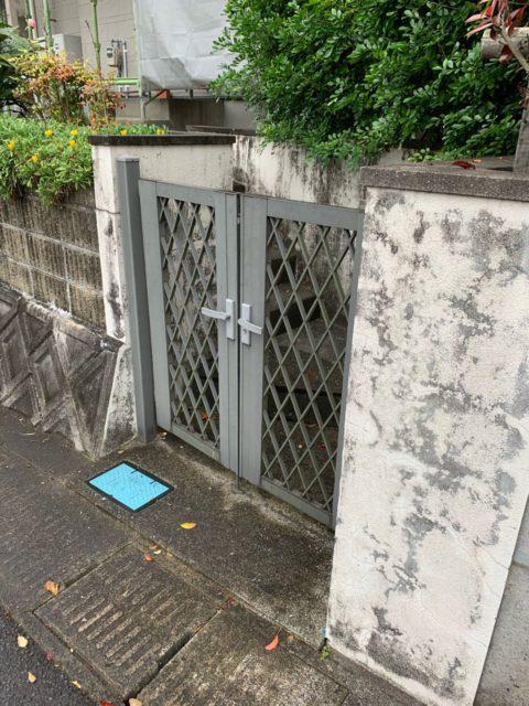 外壁塗装工事施工前の様子