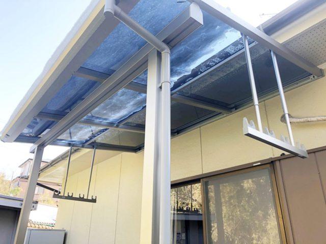 鹿児島市テラス屋根のリフォーム