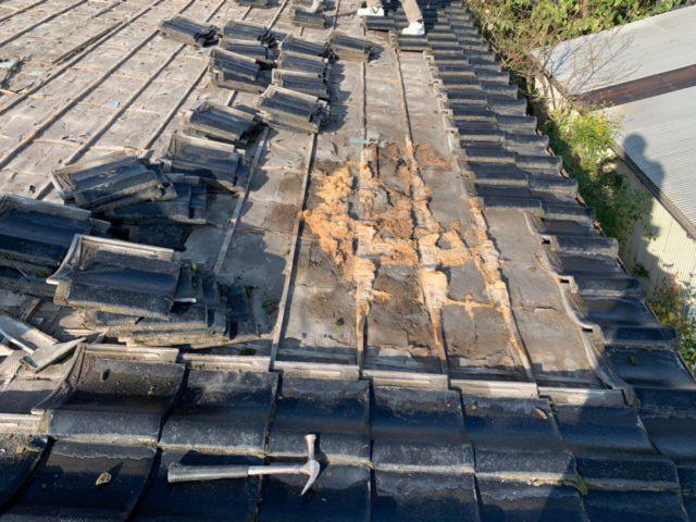 屋根の葺き替替え劣化の発見