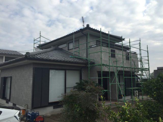 宮崎県都城市で遮熱塗料を使った外壁塗装の事例