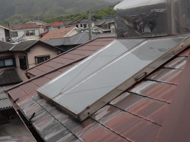 屋根の劣化の様子