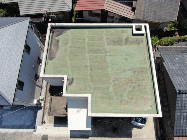 屋上防水施工前の様子